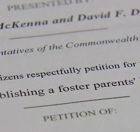 Foster parents fighting for bill of rights